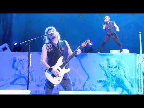 Iron Maiden - Wasted Years - live @ Klipsch Music Center - Indianapolis - 19th July 2012