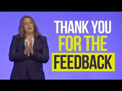 how to say thank you for feedback
