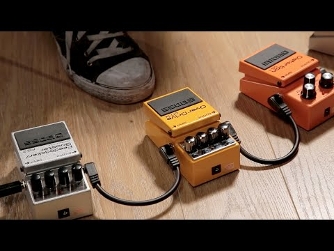 MusicRadar Basics: overdrive, distortion, boost and fuzz pedals guitar explained