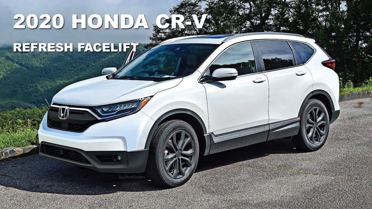 2020 Honda Cr V Facelift Refresh Spy Shot Render Preview