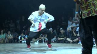 SHUHO(TOKYO FOOTWORKZ) vs HERO(至芸) DANCE@LIVE 2014 HOUSE KANTO CHARISMAX vol.2【FINAL】