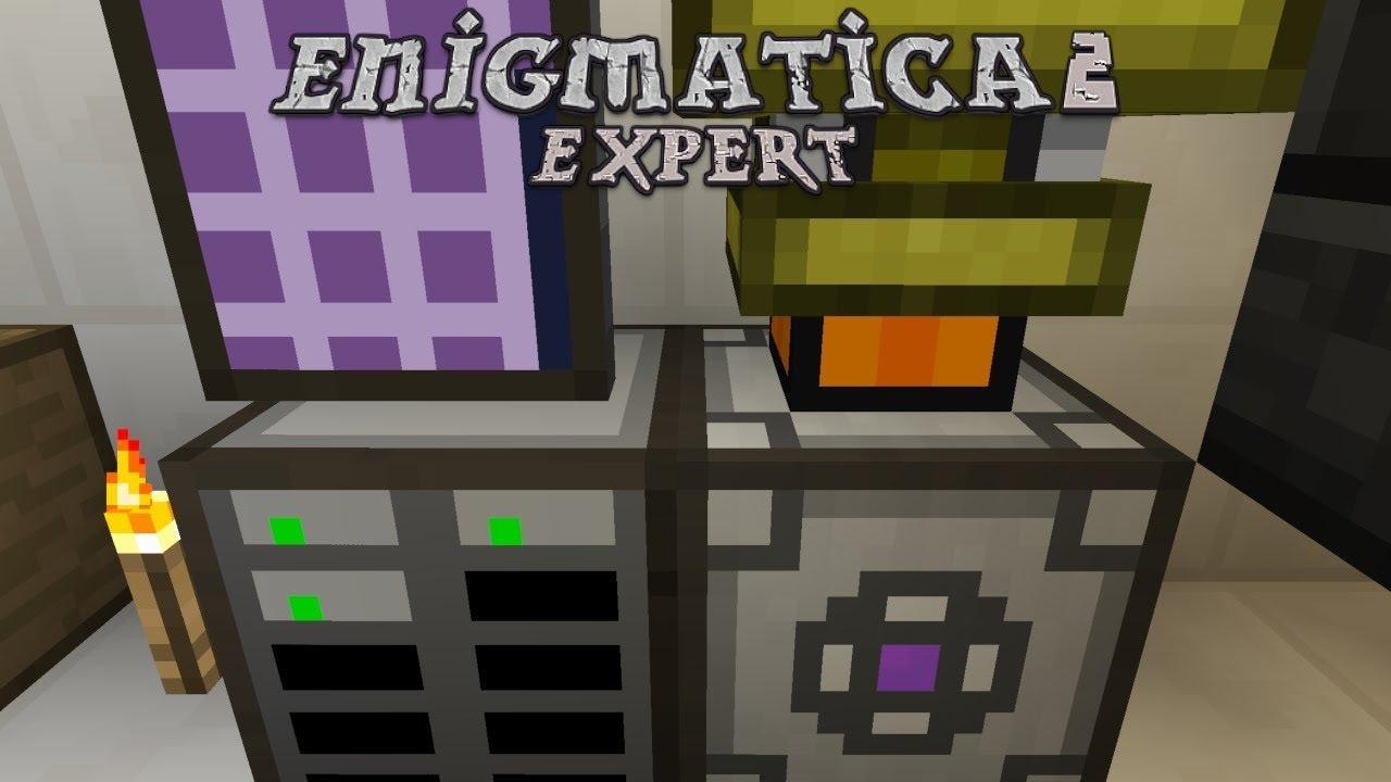 Enigmatica 2 Expert - STARTER AE [E12] (Modded Minecraft)