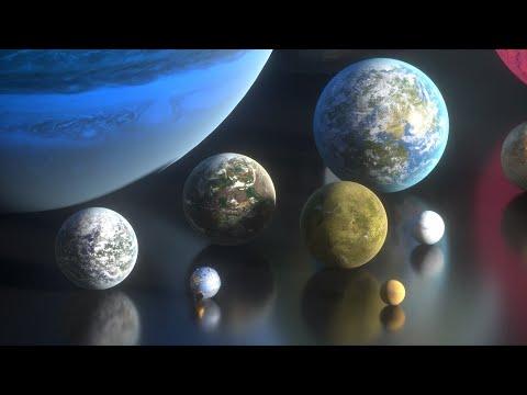 ► Fictional PLANETS Size Comparison 🌑🌍🪐 (3D)