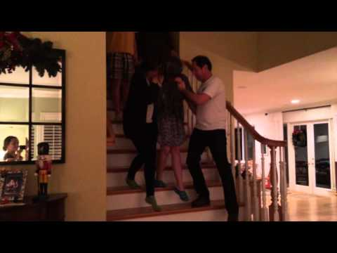 Ellie get's a surprise bird for Christmas - funny gift and fun time