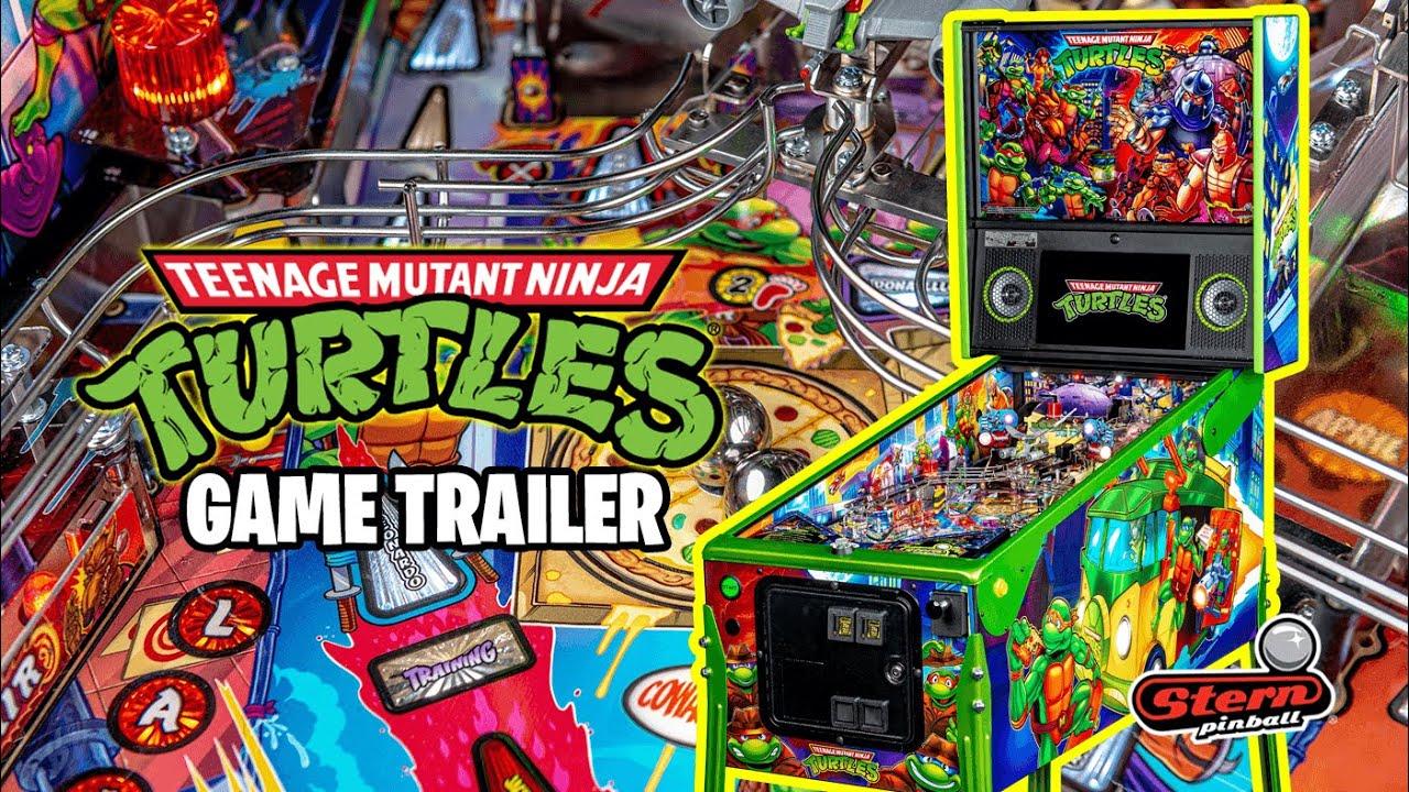 TMNT Pinball - Game Trailer