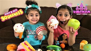 Name That Squishy Toy Challenge!! baby Sally vs Deema