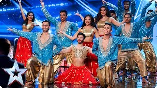 London School of Bollywood | Britain's Got Talent | Auditions