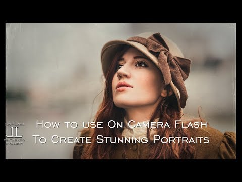 How to Use On Camera Flash to Create Stunning Portraits and Use for Event Photography
