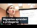 Migrantes aprenden a protegerse - Migrantes - Denise Maerker 10 en punto