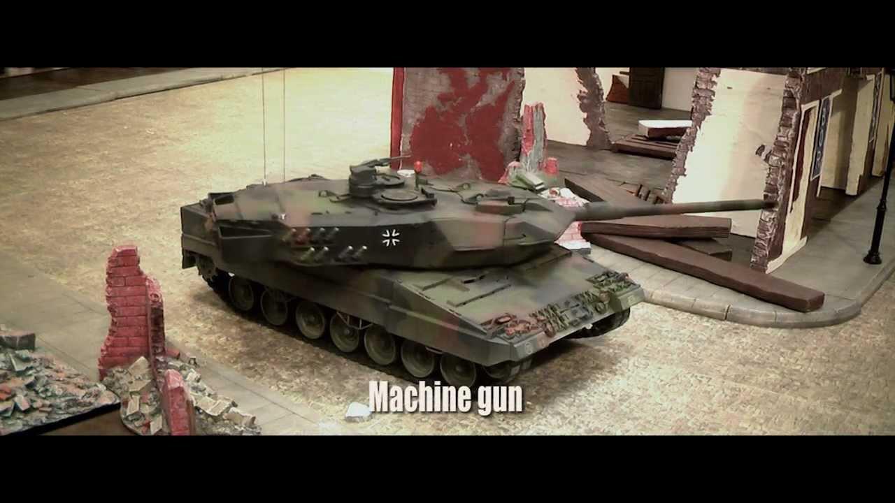 Ein ferngesteuerter Panzer ist meine neue Passion