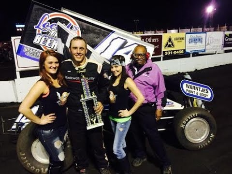 Outside the Oval: New Dad Jody Rosenboom Wins Big at Huset's Speedway