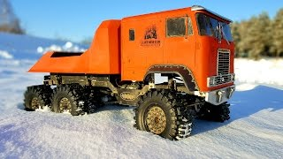 Video RC Truck OFF Road | Snow Adventures Globe Liner 6x6 (video 1 of 3) | RC Extreme Pictures download MP3, 3GP, MP4, WEBM, AVI, FLV Oktober 2018