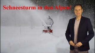 Katastrophaler Schneesturm in den Alpen: Wie geht´s beim Wetter weiter? (Mod.: Dominik Jung)
