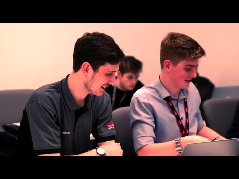 Apprenticeships at BAE Systems: James Johnston is helping to make flying safer