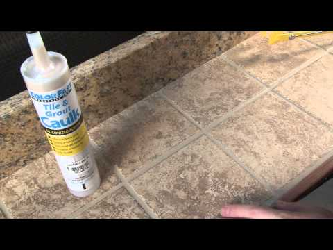 ColorFast Tile and Grout Caulking