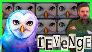 I GOT REVENGE on the GREAT OWL Slot Machine! Big Casino Wins With SDGuy1234