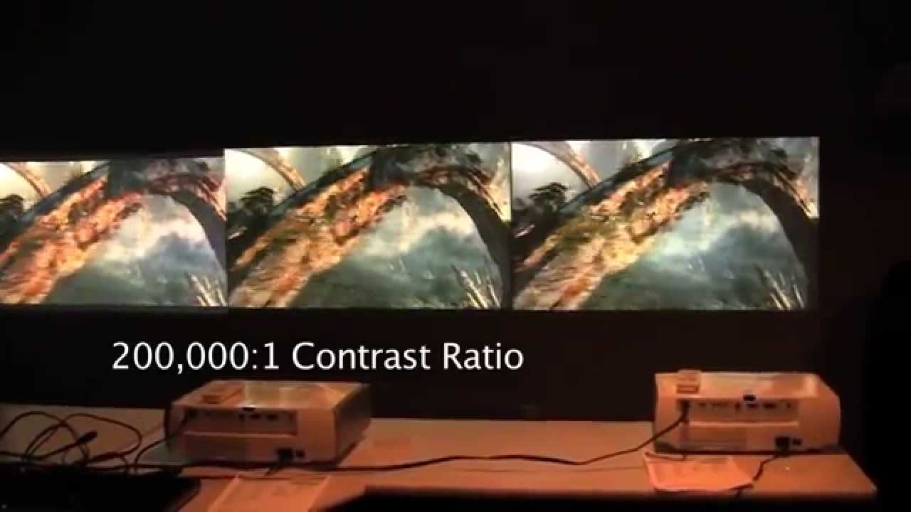 Epson PowerLite Home Cinema 8350 Comparison Review