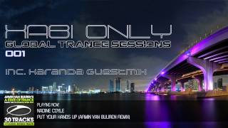 Xabi Only - Global Trance Sessions 001 (inc. Karanda Guestmix)[10-10-2011]