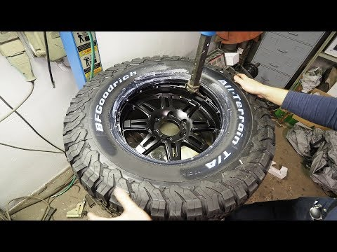 Upgrading our Truck's Tires and lights | 33 inch All-Terrain tires!