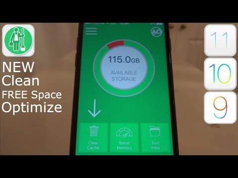 NEW How To Clean & FREE More Storage Space iOS 12 - 12.4 / 11 / 10 NO Jailbreak iPhone iPad iPod