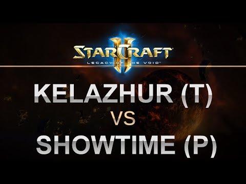 StarCraft 2 - LOTV 2017 - Kelazhur (T) v ShoWTimE (P) on Defender's Landing
