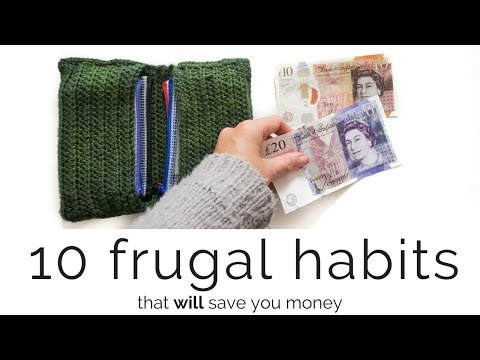 10 Frugal Habits That SAVE Money!