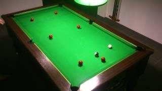 26ème exercice billard 8 pool anglais blackball(fermer la table)