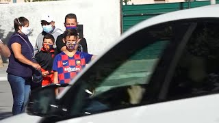 Messi Fails To Report As Barcelona Players Return For Pre-Season Covid-19 Testing