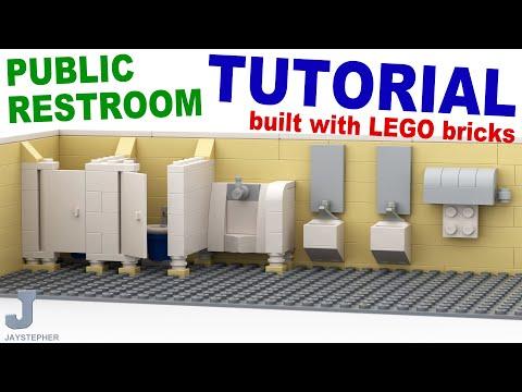 TUTORIAL -  LEGO Public Restroom How To