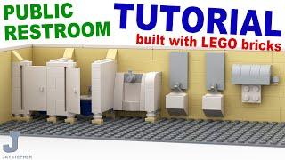 Tutorial - Lego Public Restroom [cc]