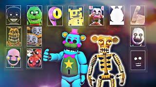 Ultra Custom Night - NUEVA Actualización ÉPICA!! + de 250 ENEMIGOS !! (FNAF Game)