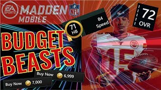 Best BUDGET BEAST Team in Madden Mobile 20 *First FACECAM Video*
