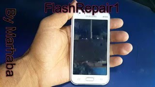 Samsung Galaxy J1 SM J100H MT6572 Dead After Flash Recover Successfully