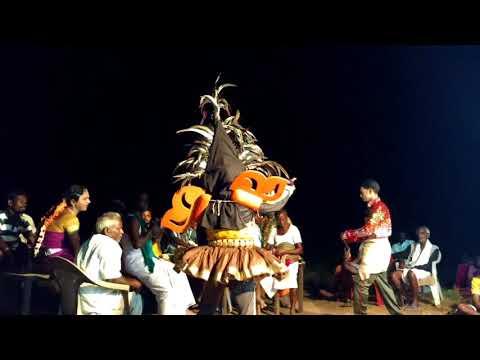 Sakthivel teacher therukoothu in melappattu (village)
