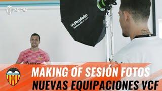 MAKING OF: ASÍ FUE LA SESIÓN DE FOTOS DE LAS NUEVAS EQUIPACIONES DEL VALENCIA CF📸 🦇