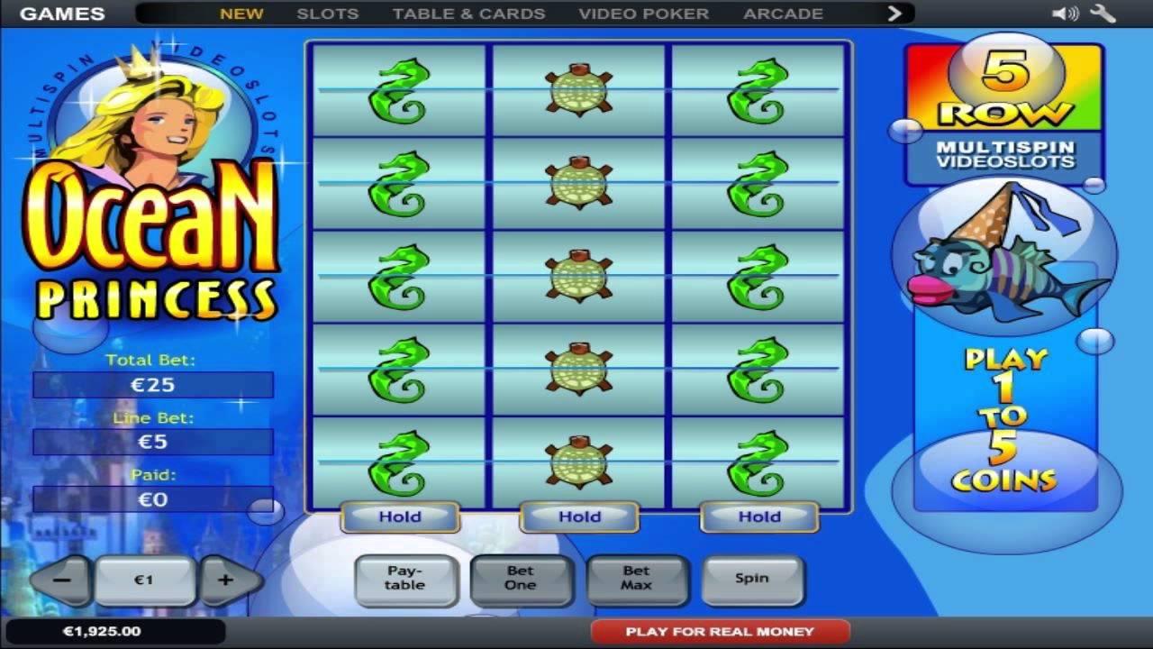 Ocean Princess Slot Machine
