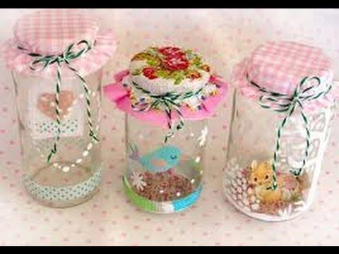 Como hacer un adorno con un frasco de vidrio hogar tv for Como hacer decoraciones para el hogar