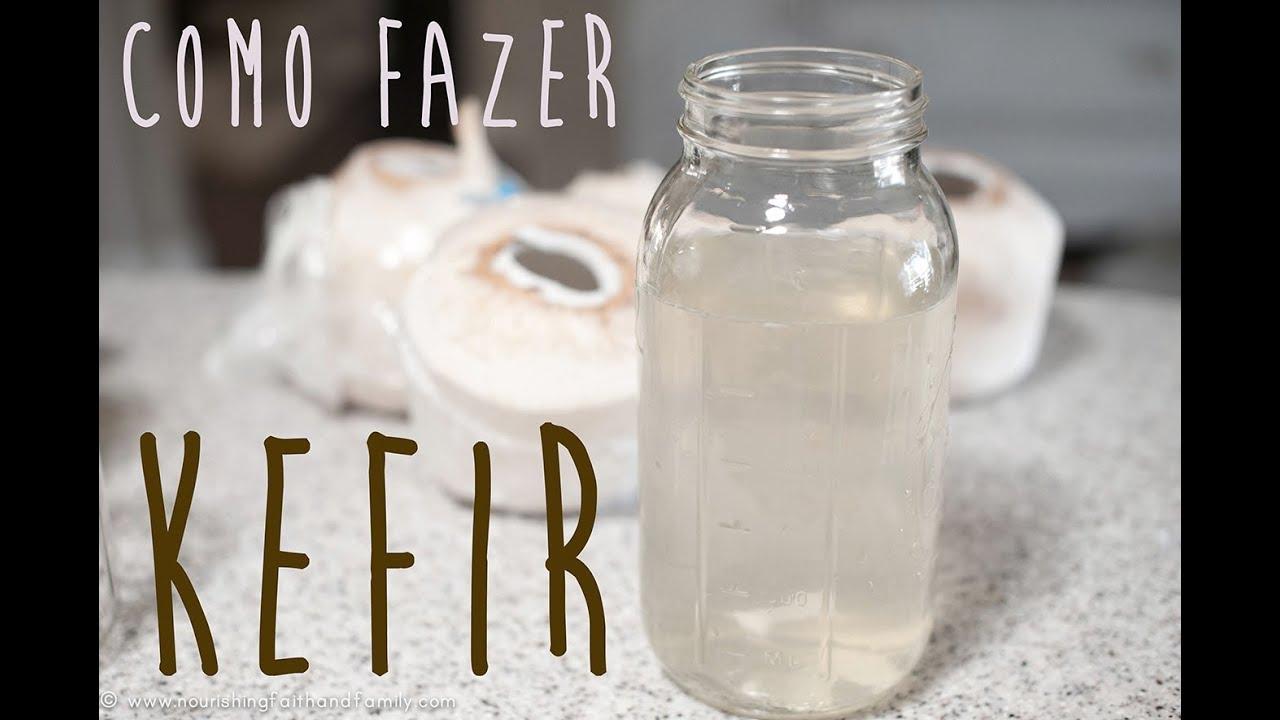 como guardar el kefir de agua