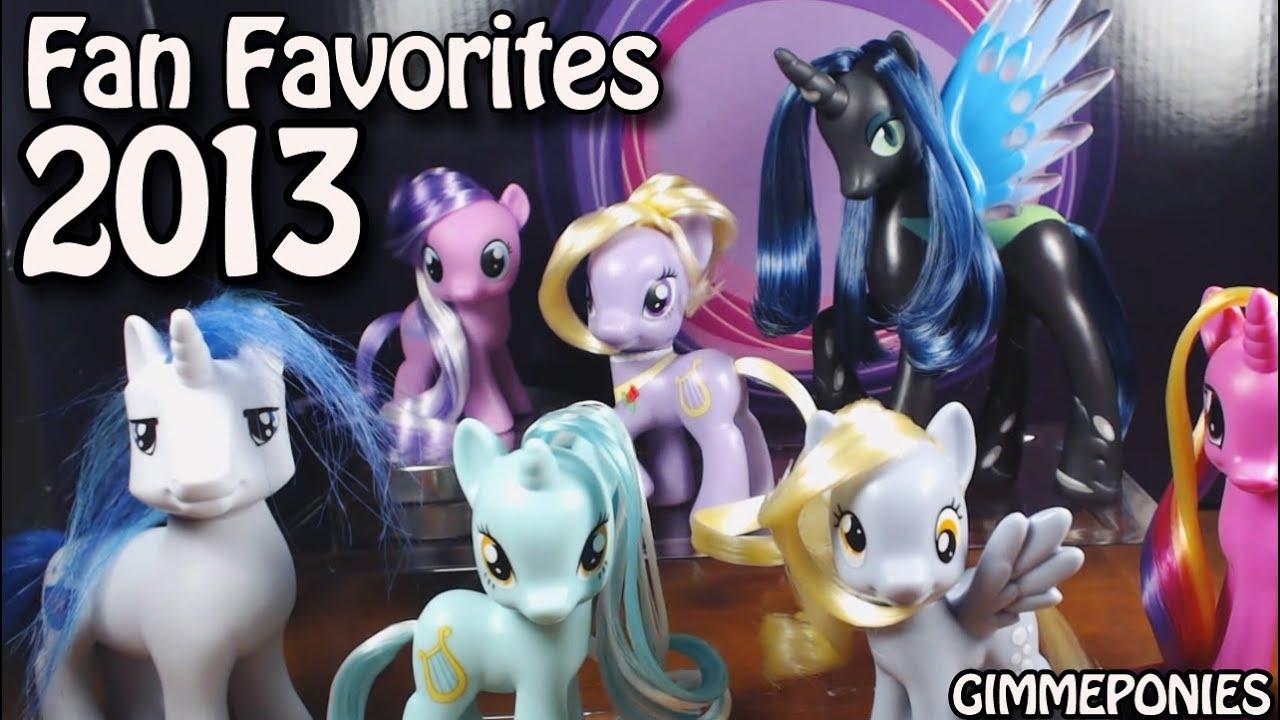 my little pony toys r us fan favorites chrysalis derpy diamond