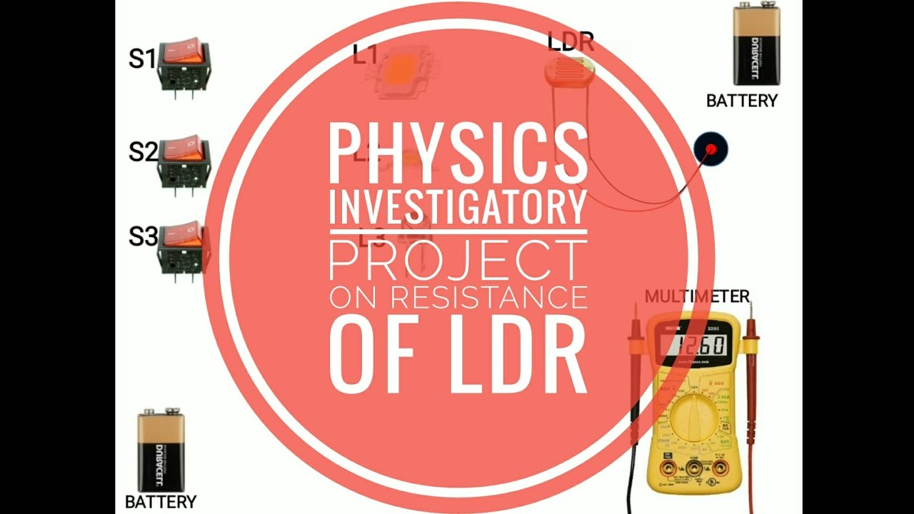 Physics Investigatory Project | To study the variation of resistance ...