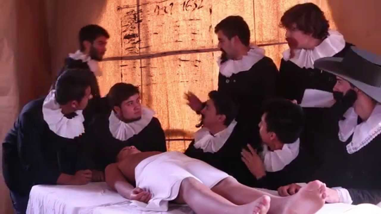 Lección de anatomía del Dr. Nicolaes Tulp - YouTube