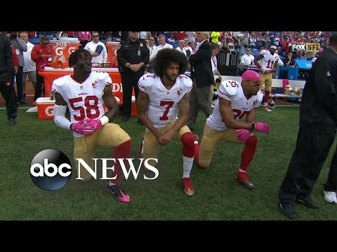 Colin Kaepernick Makes Start After National Anthem Protest