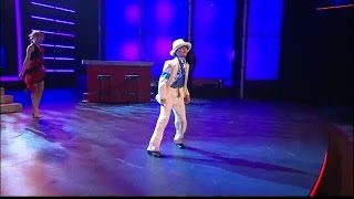 Christoffer Collins dansar Michael Jackson - Talang (TV4)