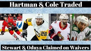NHL Trade Talk - Blackhawks, Predators, Senators & Blue Jackets