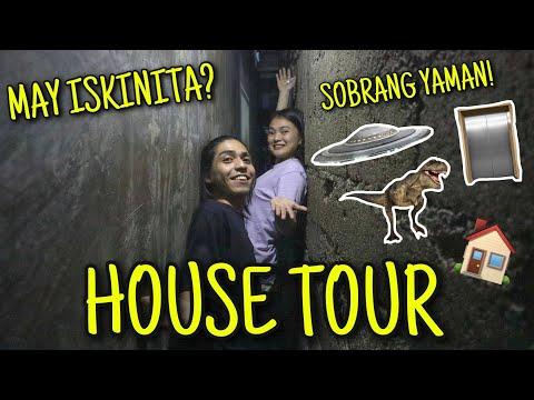 HOUSE TOUR NG PINAKA MAYAMAN NA VLOGGER (MAY ISKINITA?!!)