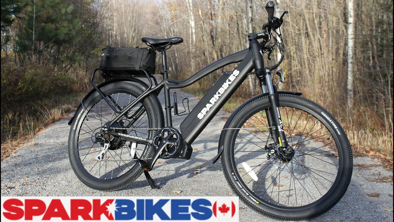 spark e bike 500 watt electric bicycle unboxing setup test drive review written