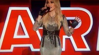 Madonna backstage at the iHeart Radio Music Awards