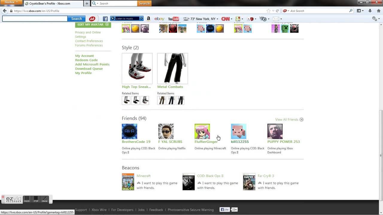 Xbox Gamertag Info Search