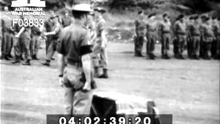 Battle Of Long Tan - Military Cross Presentation To Major Harry Smith - Vietnam