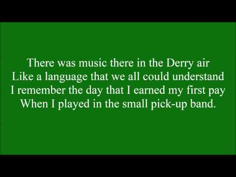 The Town I loved so Well with lyrics